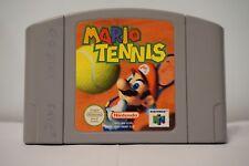 Mario Tennis 64 Nintendo 64 game n64 spiel EUR only cartridge PAL 2000 original