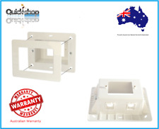 Recessed Power point Box Wall Plate GPO  TV AV ,with 2 AV Clipsal style  inserts