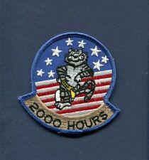 GRUMMAN F-14 TOMCAT 2000 FLIGHT HOURS US NAVY VF Fighter Squadron Patch