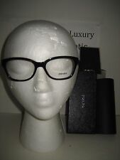 NEW Prada Women PR 20P Havana Plastic Optical Frame RX Eyeglasses Case 52x17x140