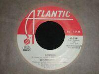 Wishbone Ash vinyl 45rpm LORELEI Mono/Stereo Atlantic Promo~1976