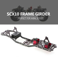 SCX10 Frame Girder Carbon Graphite Chassis Frame Rails for 1/10 Axial SCX10 N7R2