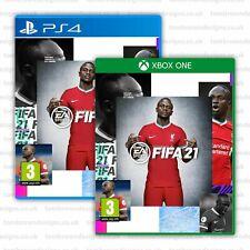 FIFA 21 Cover - Sadio Mané for XBOX PS4 - Liverpool FC FIFA 21 Cover - LFC