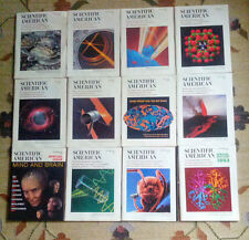 Scientific American 1992 FULL complete entire YEAR (12 issues)