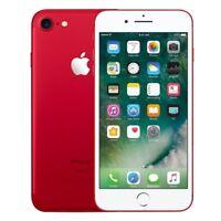 "Apple iPhone 7 128GB 4.7"" Retina Display 4G GSM RED UNLOCKED Smartphone SRF"