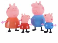 Peppa Pig Family 4 Pack Figures