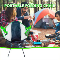 Folding Camping Chair Luxury Padded  Ultralight High Back Directors Cup Holder
