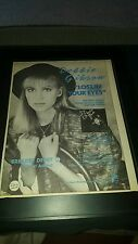 Debbie Gibson Lost In Your Eyes Rare Original Promo Poster Ad Framed!