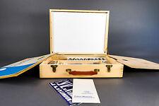 Vintage Winsor & Newton Artist's Paint Box with Complete Oil Paint Set