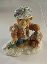 "Cherished Teddies Rich ""Always Paws For Holiday Treats� #352721 Issue 1998"
