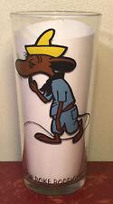Vintage 1973 Slow Poke Rodriguez Pepsi Collector Glass Warner Bros Looney Tunes