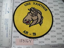 NAVY USN USS XANTHUS Squadron Patch AR-19 Repair Ship ww2