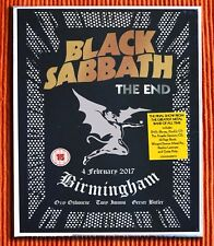 BLACK SABBATH – THE END  3 CD + 1 DVD + 1 Blu-ray  Super Deluxe  Box Set  SEALED