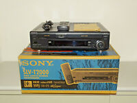 Sony SLV-T2000 Video Hi8 / VHS-Recorder in OVP, gepflegt, FB&BDA, 2J. Garantie