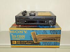 Sony SLV-T2000 Video Hi8 / VHS-Recorder in OVP, gepflegt, FB&BDA, 2J. Garantie