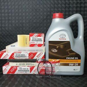 GENUINE TOYOTA VOXY HYBRID SERVICE KIT 2014 TO 2017 1.8LMODEL 0W20 OIL&FILTERS