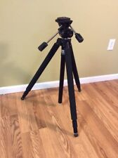"Tiffen Magnum XL Oil Fluid Tripod w/ Camera Quick Release Shoe 30-69"" Extension"