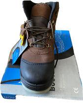NOVIPro Hiker Safety Boots Dark Brown 11