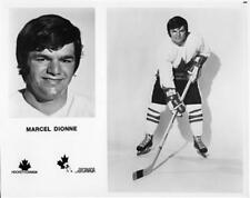 Marcel Dionne team Canada 1972 8x10 Photo