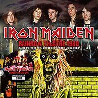 Iron Maiden Rainbow Theatre 1980 CD 2 Discs 27 Tracks Heavy Metal Music F/S