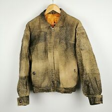 ~ Bugatti ~ Bronx Collection ~ Distressed Leather Jacket ~ Men's ~ Small S ~