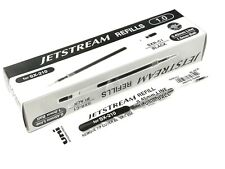 12 pcs Uni-Ball Jetstream SXR-C1 Ballpoint Pen Refills 1.0mm for SX-210, BLACK