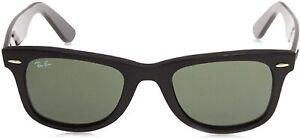 Ray-Ban Rayban Unisex RB2140 901 50 Wayfarer Sonnenbrille 50 Schwarz 03A5326I