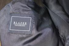 Elegante abito completo uomo  misto lino Made in England tg. 48 grigio  Blazer