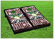Vinyl British Punk Rock Flag Cornhole Beanbag Boards 1042