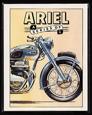 ARIEL Collectors Card Set - Square Four Red Hunter FH Huntmaster HT5 Motorcycles