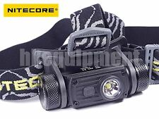 NiteCore HC60 Cree XM-L2 U2 CW LED USB 18650 Rechargeable Headlight Headlamp