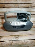 Sony CFD-S05 CD-R/RW Mega Bass AM/FM Radio Cassette Recorder BoomBox MP3/4