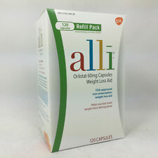 Alli Orlistat 60mg Capsules Weight Loss Aid 120ct 353100469254G5504
