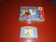 Looney Tunes: Duck Dodgers Starring Daffy Duck (Nintendo 64)-Game/Box-Authentic