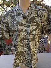 KOKO ISLAND Large Hawaiian Shirt Fish Pattern Swordfish MADE IN USA