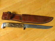 Vintage Case Fixed Blade Knife