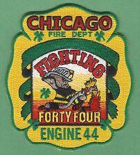 CHICAGO FIRE DEPARTMENT ENGINE COMPANY 44 PATCH LEPRECHAUN