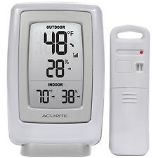 AcuRite Wireless Weather Station Thermometer Humidity Ind / Outdoor Sensor 00609
