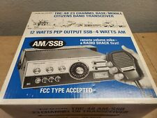 Vtg Realistic SSB+AM TRC-48 23 Channel Mobile Base Band CB Radio. AM/SSB