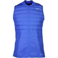 Nike Aeroloft Men'S Golf Vest, Nwt, Large (Game Royal/Black) Msrp $190