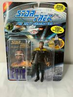 Star Trek The Next Generation Lt Commander Geordi LaForge in Movie Uniform 1994