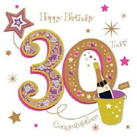 Happy 30th Birthday Greeting Card By Talking Pictures Greetings Cards