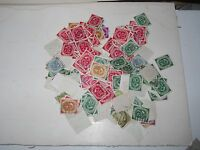 Postage Stamps: Germany, used, 1951-52 large assortment