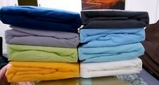 Soft Micro Flannel/Flannelette Queen bed fitted sheet 80%Cotton 20%Polyester