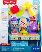 Fisher Price Laugh & Learn Busy Learning Tool Bench Toy - 6-36 Months - NEW