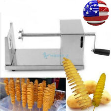 Vegetable Cutter Manual Stainless Steel Spiral Slicer Potato Twisted KitchenTool