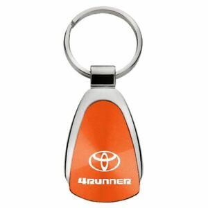 Toyota 4Runner Key Ring Orange Teardrop Keychain