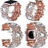 Crystal Jewelry Bracelets For Apple Watch Band Wristwatch Wrist Straps 4 3 2 1