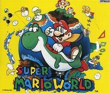 Used Official Japanese CD Audio Super Mario World Nintendo original soundtrack