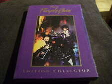 "RARE! COFFRET COLLECTOR 2 DVD ""PURPLE RAIN"" Prince"